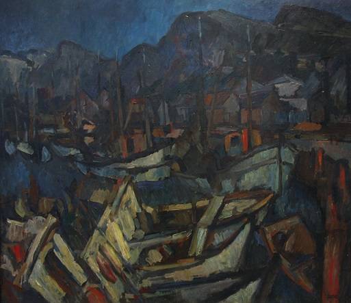 29.Rudolf Gopas, The Trawlers, 1965