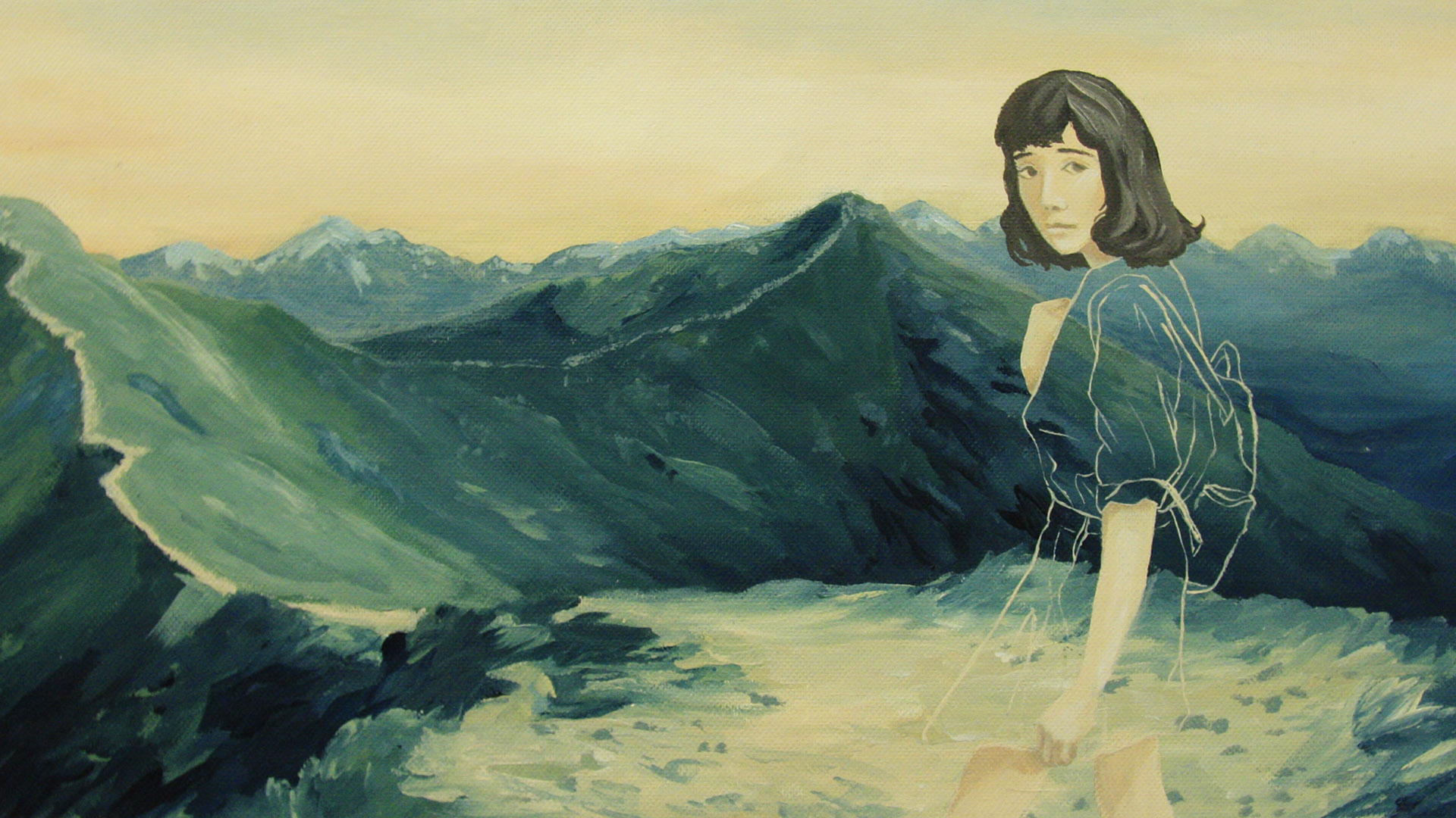 Girl and mountain_Zonta_exhibiton Header