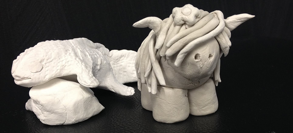 jub jub clay animals